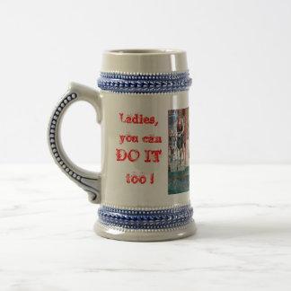 Triathlon Beer Mug