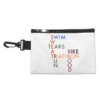 Triathlon Blood Sweat and Tears Accessory Bag