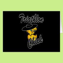 Triathlon Chick #4 Card