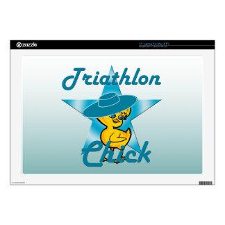 Triathlon Chick #7 Laptop Skin