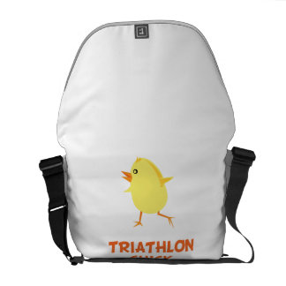 Triathlon Chick Courier Bags