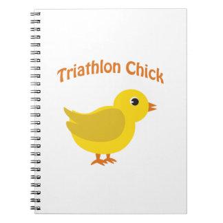 Triathlon Chick Notebook
