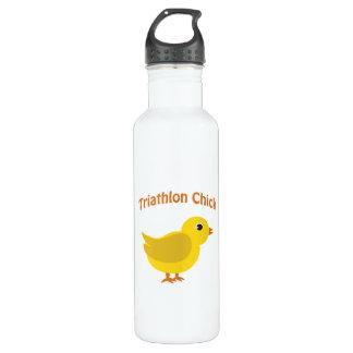 Triathlon Chick Water Bottle
