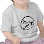 triathlon circle icon shirts