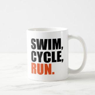 triathlon coffee mug