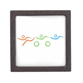 Triathlon cool and unique design gift box