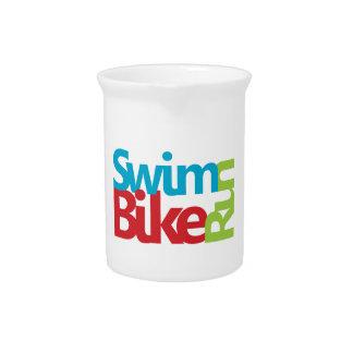 Triathlon cool and unique design pitcher
