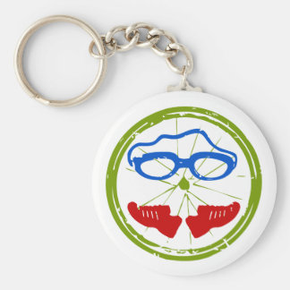 Triathlon cool artistic design keychain