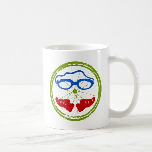 Triathlon cool artistic design mug