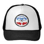 Triathlon cool artistic logo trucker hat