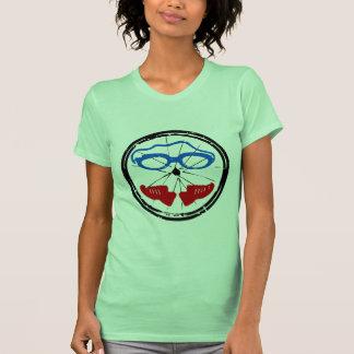 Triathlon cool artistic logo t shirts