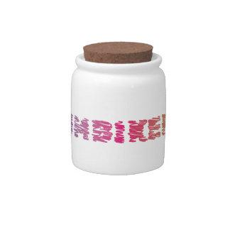 Triathlon Cool Design Candy Jar