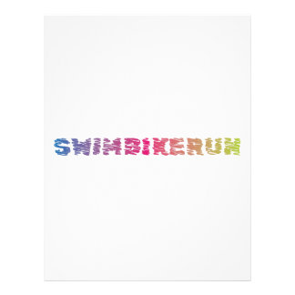 Triathlon Cool Design Letterhead