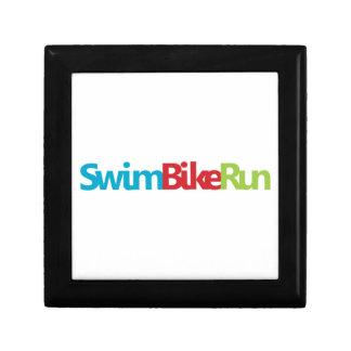 Triathlon cool logo for all sport lovers jewelry box