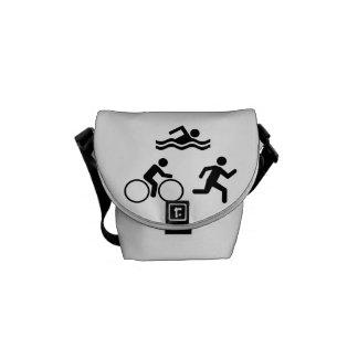 Triathlon Courier Bag
