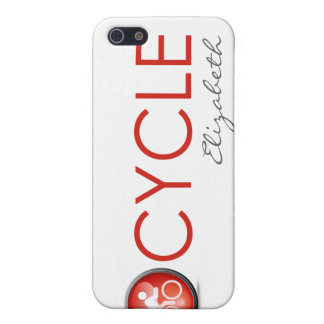 "Triathlon ""Cycle"" Personalized iPhone 4 Case"