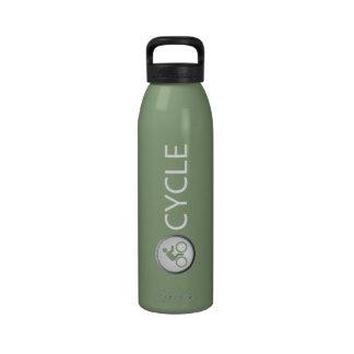 Triathlon CYCLE Water Bottle (sage)