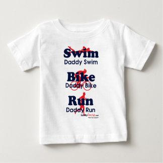 Triathlon Daddy Baby T-Shirt