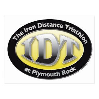 Triathlon de IronDistance Tarjetas Postales