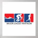Triathlon de la primera división póster