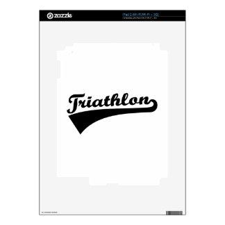 Triathlon Decal For The iPad 2