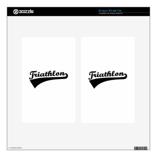 Triathlon Decals For Kindle Fire