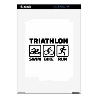 Triathlon Decals For The iPad 2