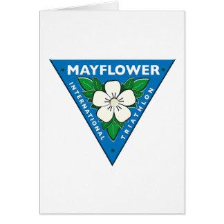 Triathlon del International de Mayflower Tarjeta De Felicitación