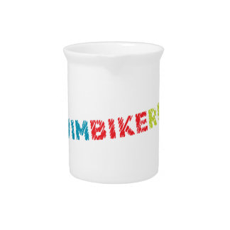 Triathlon design beverage pitcher