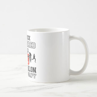 triathlon  design coffee mug