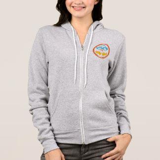 Triathlon design, on various consumer goods hoodie