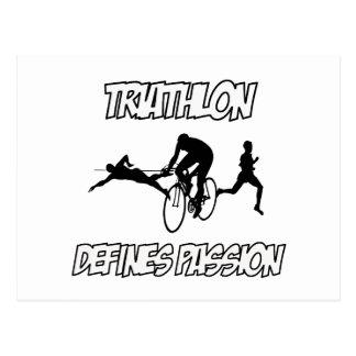 TRIATHLON designs Postcard