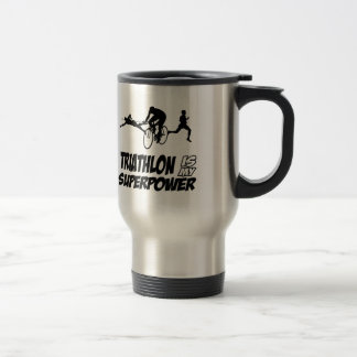 Triathlon designs travel mug