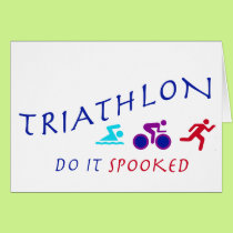 Triathlon, Do it Spooked Card