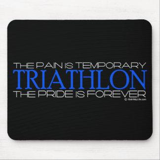 Triathlon - el orgullo es Forever Alfombrillas De Raton