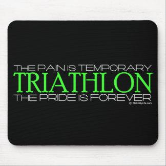 Triathlon - el orgullo es Forever Tapetes De Ratones