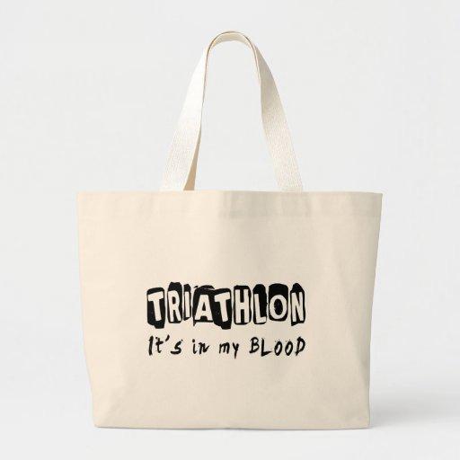 Triathlon está en mi sangre bolsas