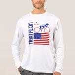 Triathlon Estados Unidos Camiseta