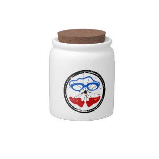 Triathlon Freak logo Candy Jar