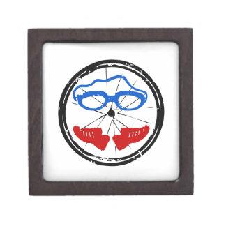 Triathlon Freak logo Gift Box