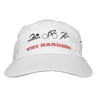 Triathlon fun quote custom text sports headsweats hat