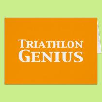 Triathlon Genius Gifts Card