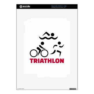 Triathlon iPad 2 Decal