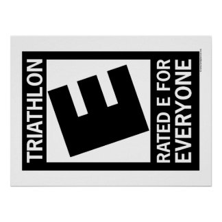 Triathlon is Rated E for Everyone Poster