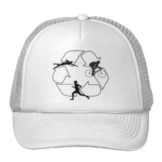 Triathlon Man Trucker Hat