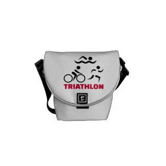 Triathlon Messenger Bag