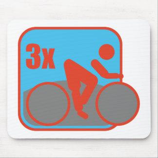 Triathlon Mouse Pad