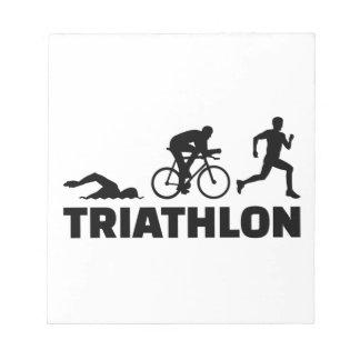 Triathlon Notepad