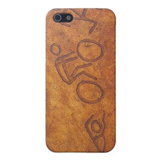 Triathlon Petroglyph Cover For iPhone 5