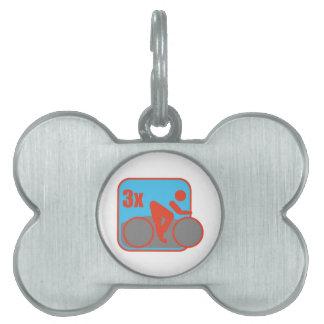 Triathlon Placa Mascota